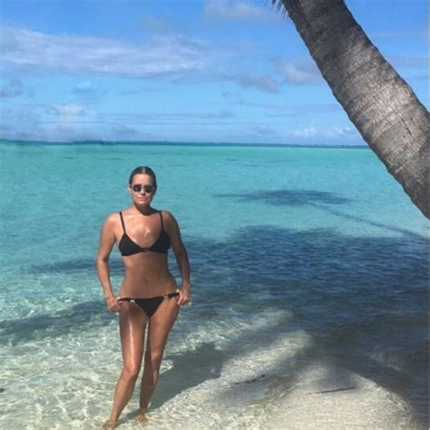 yolanda hadid shares a sexy bathing suit photo on vacation yolanda hadid wears the same swimsuit as 19 year old bella
