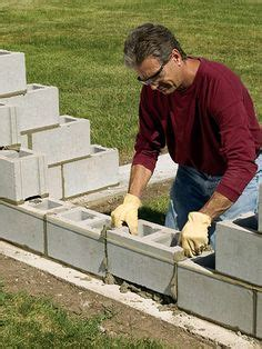 how to build a cinder block wall expert s guide to building a cinder block wall in the