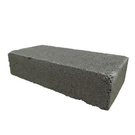16 in x 8 in x 4 in concrete solid block 010410b the