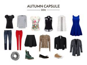 sparkle autumn capsule wardrobe 2014