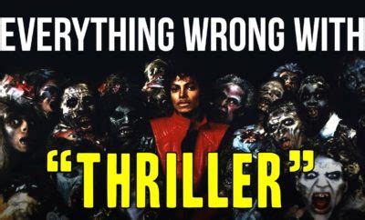 what was wrong with michael jackson everything wrong with michael jackson s thriller video