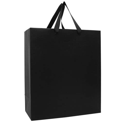 gift bag black kraft large gift bag