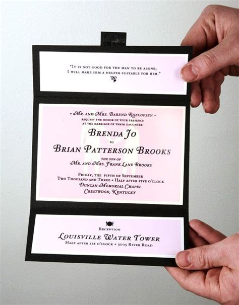 Simple Handmade Wedding Invitations - handmade wedding invitations simple but you
