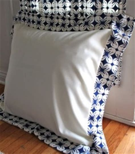 sewing pattern euro pillow sham tutorial euro sham pillow cover sewing