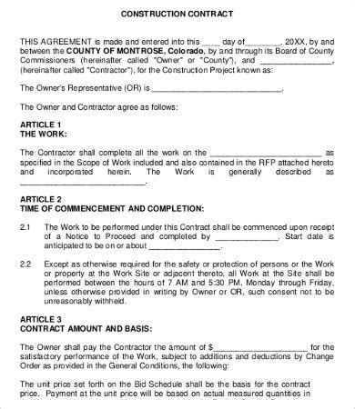 Work Agreement Template 10 Free Word Pdf Documents Download Free Premium Templates Working Agreement Template