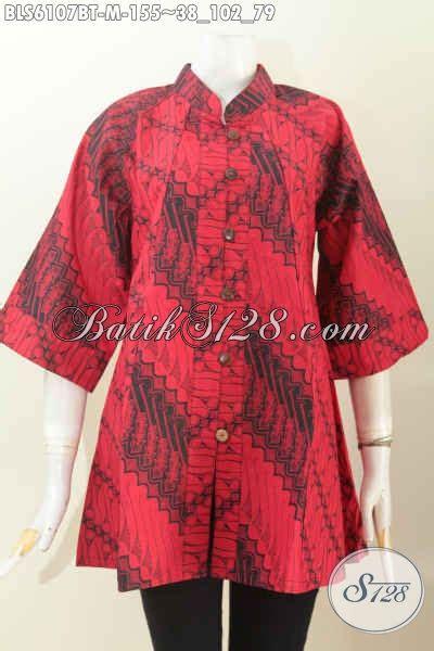 Kemeja Batik Pria Hitam Putih Monokrom Elegan Batik Pekalongan baju batik elegan warna monokrom merah hitam blus batik