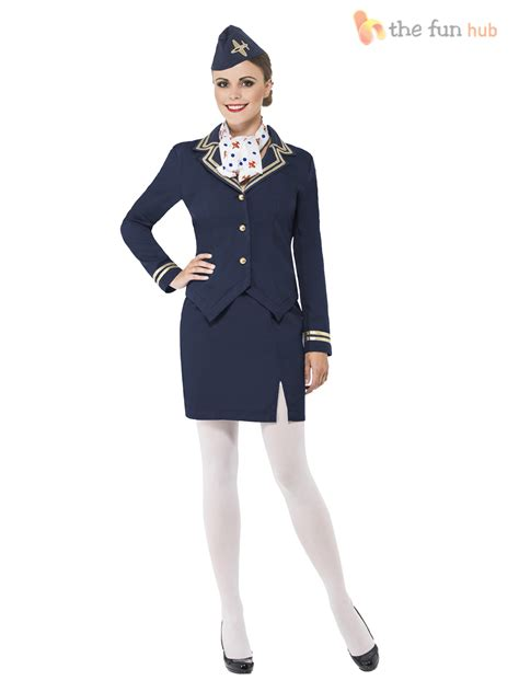 How To Dress For Cabin Crew by Air Hostess Costume Stewardess Cabin Crew Fancy