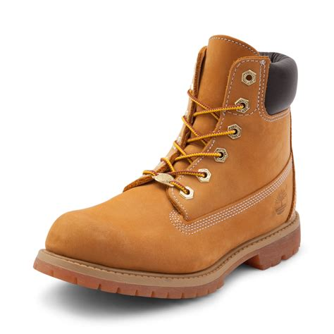 timberland boots for womens timberland 6 premium boot light brown 538478