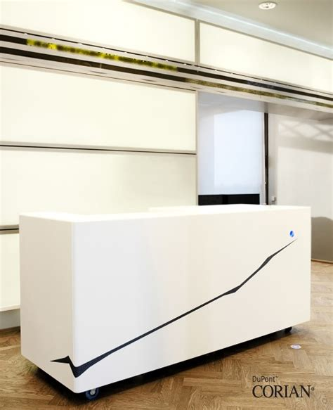 Acrylic Reception Desk Reception Desks Offices Dfmk Solid Surface Milton Keynes