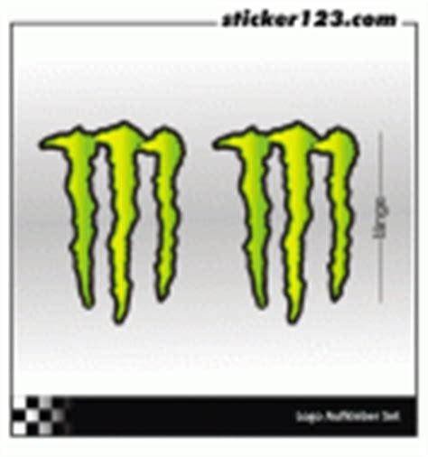 Monster Energy Kart Aufkleber by Monster Energy Hellgr 252 N Gr 252 N Aufkleber Sticker123