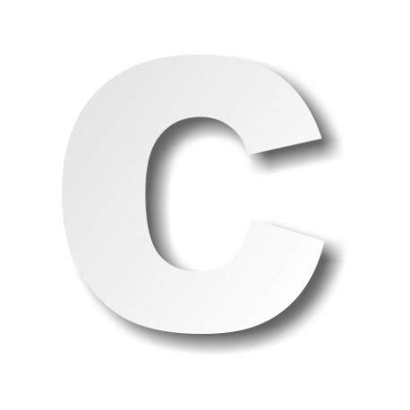 lettere c lettre c majuscule d 233 coration buffet