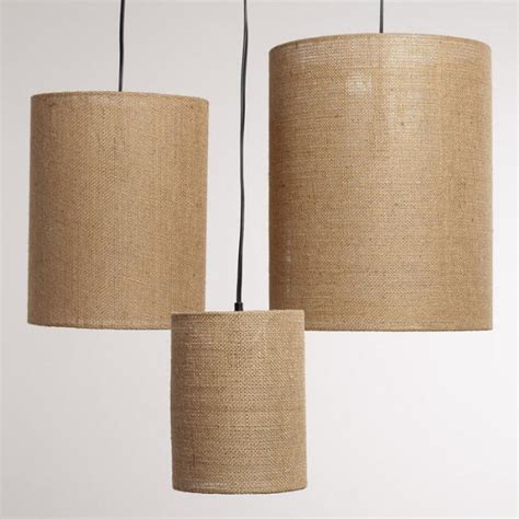 world market l shades irving burlap l shades set of 3 world market