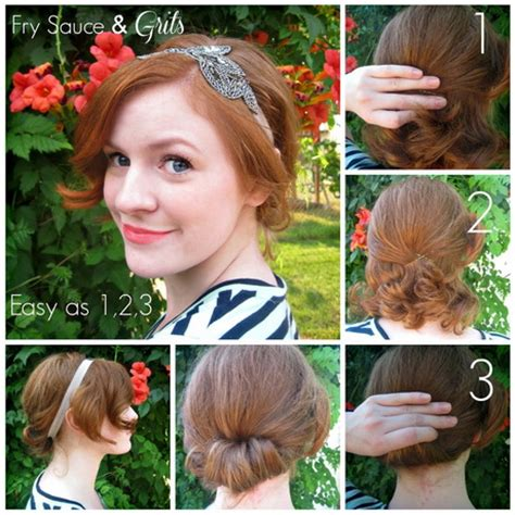 easy hairstyles you can do with short hair hairstyles you can do with short hair
