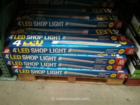 4ft led shop light standard stainless steel sink