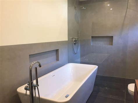 beton cire bad fugenlose design b 246 den fugenloser putz im bad beton cire