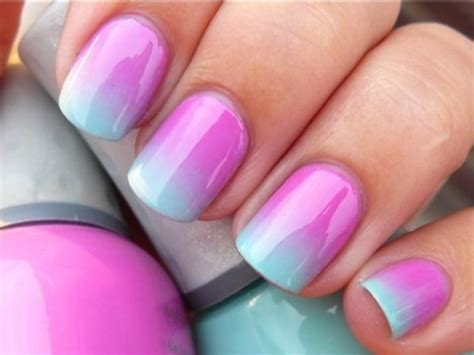 ombre nail design ombr 233 nails nail designs pinterest