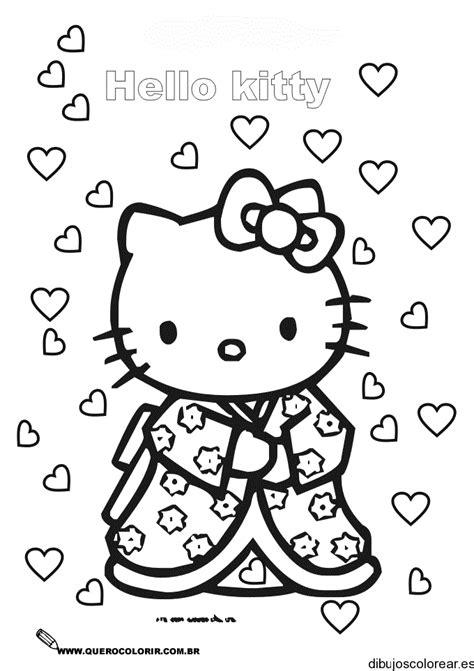 imagenes de hello kitty a blanco y negro dibujos de hello kitty