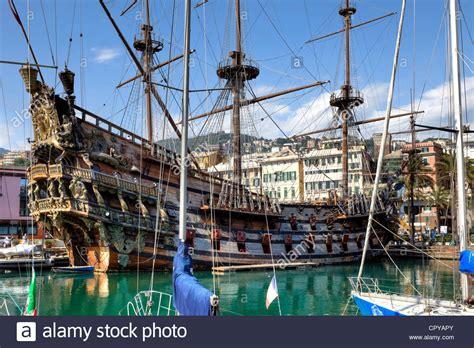 porto antico genova pirate ship polanski porto antico genoa liguria