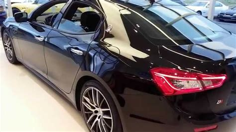 maserati blacked out 2015 blacked out maserati ghibli walk around changes