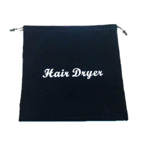 Dryer Hair Bag hair dryer bags drawstring 12 quot x 12 quot black velvet qh