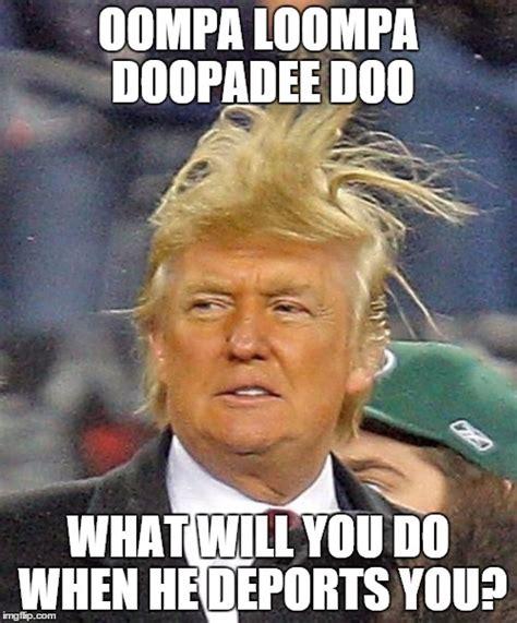 Oompa Loompa Meme - donald trumph hair imgflip