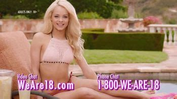 we are 18 tv commercial for phone and video chat ispot tv we are 18 tv commercial log on now ispot tv