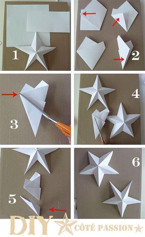 papel como hacer borregos como hacer una estrella de papel navidad pinterest