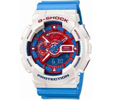Jam Casio G Shock Protrek Blue casio g shock blue shocking blue and casio