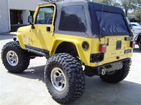 Wrangler Ori sell used 2004 jeep wrangler rubicon w 609 differentials