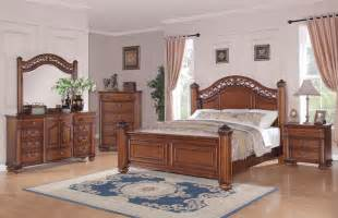 Oak Bedroom Sets Barkley Square Bedroom Set Warm Oak Finish Bq600qb