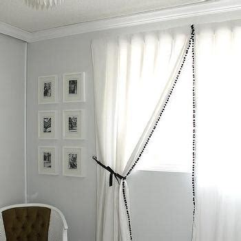Pom Pom Trim Curtains Curtains With Pom Pom Trim Design Ideas