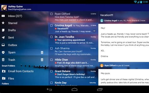 yahoo mail app for android yahoo mail for android update brings package tracking horoscopes and more