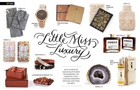 rue magazine 2012 holiday gift guide on behance