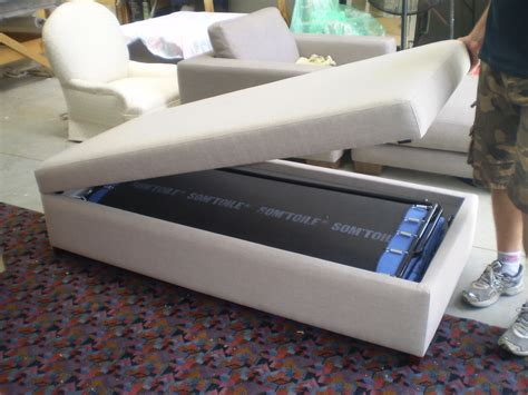 ottoman chair bed ottoman with fold out bed jaro upholstery melbourne cbd