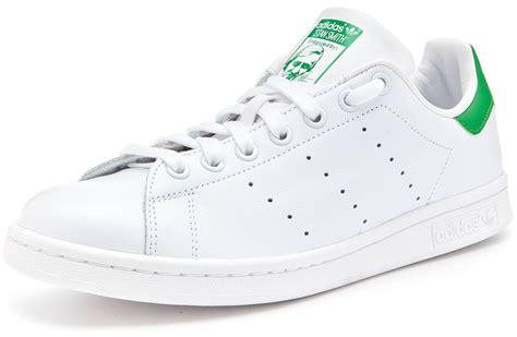 Jam Adidas Stan Smith Original White Green adidas originals stan smith trainers white green m20324 ebay