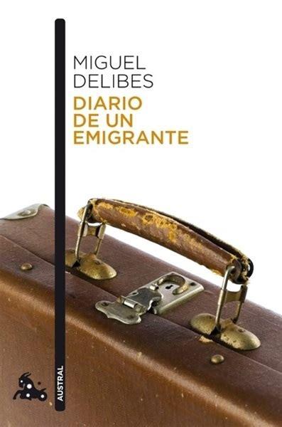 libro diario de un emigrante se 241 ora de rojo sobre fondo gris libros