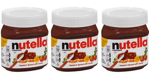 Nutella Printable Coupon
