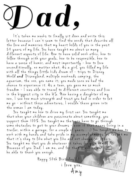 Letter My birthday letter to my