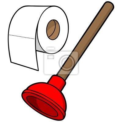 Plakat Papier by Plakat Papier Toaletowy I Tłok Na Wymiar Czerwony
