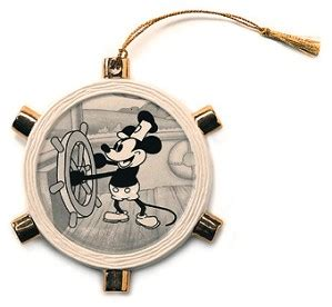 steamboat willie ornament wdcc disney classics steamboat willie mickey mouse ornament