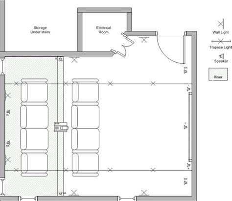 Home Theater Floor Plans Home Theater Plans House Design Plans