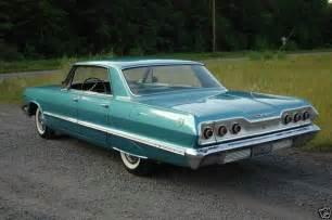 1963 chevrolet impala 4 door hardtop chevrolet impala