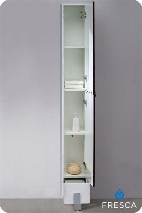 bathroom side cabinets 9 75 fresca fst8110dk fresca adour walnut bathroom