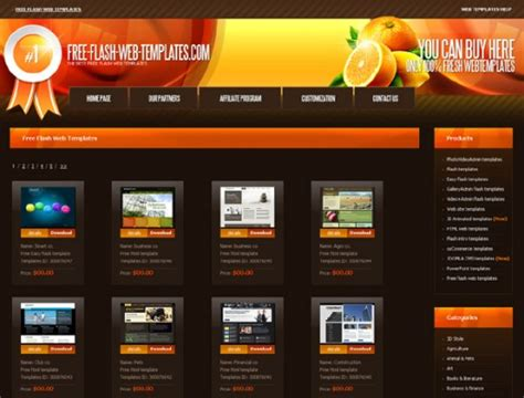 flash templates free 33 excellent free flash websites templates tutorialchip