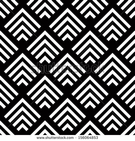 pattern art simple seamless geometric vector background simple black and
