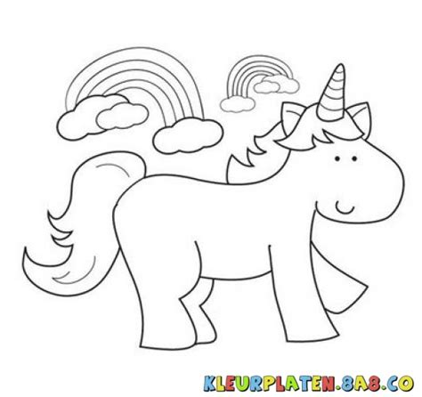 pony coloring unicorn kleurplaten voor kids unicorn