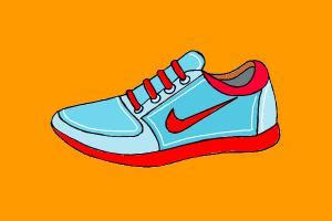 how to draw running shoes how to draw a shoe rpg911 drawingnow