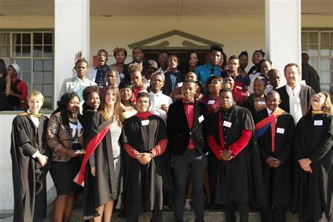 Of Cape Town Mba Tuition by Local Youth Their Day At Tsiba S Graduation Ceremony