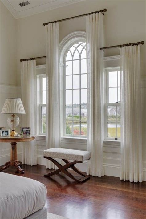 curtains for large picture windows arch windows curtains remodel ideas best 25 arched window
