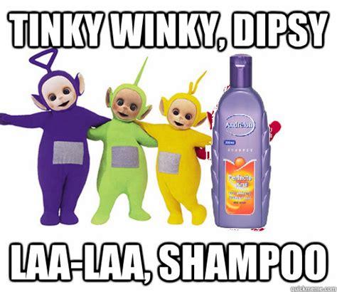 Teletubbies Meme - tinky winky dipsy laa laa shoo de teletubbies